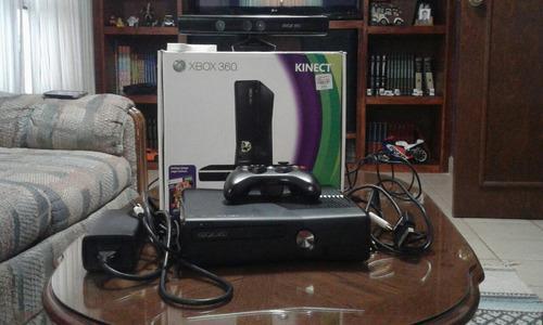 Consola Xbox360-kinect Slim. 4gb Usada,en Buen Estado