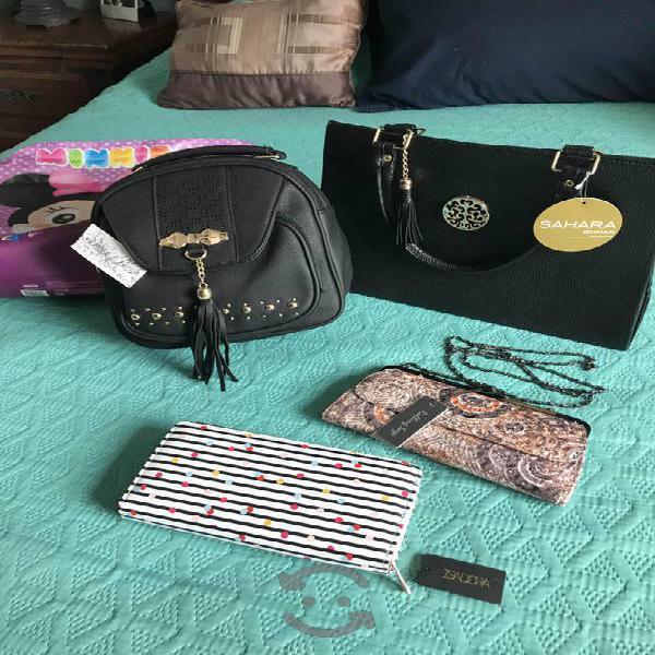 Lote de bolsas y carteras NUEVAS