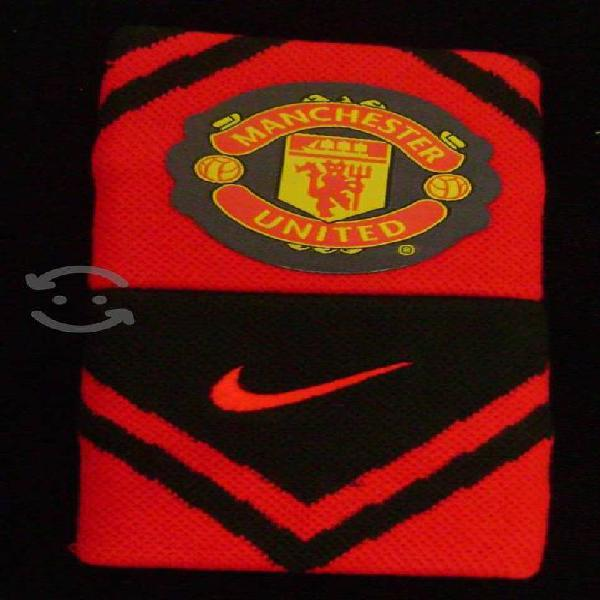 Manchester united muñequeras nike premier league