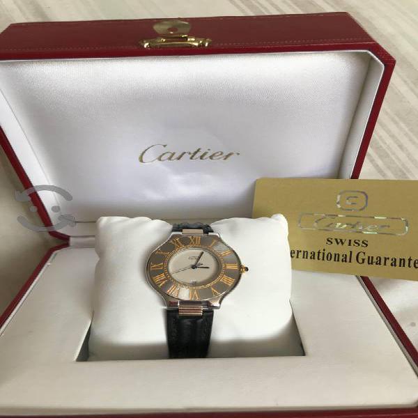 Must de Cartier Acero Oro de Caballero