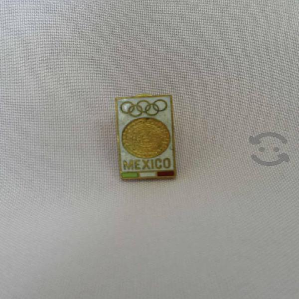 PIN de las Olimpiadas de México del año de 1968