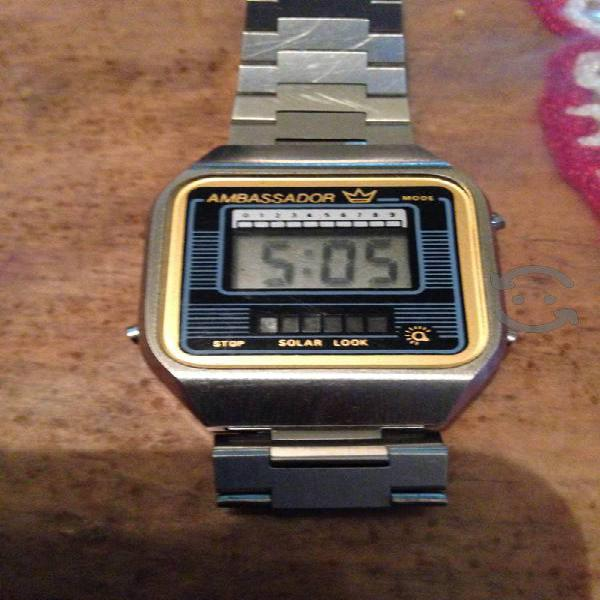 Reloj Ambassador digital Vintage