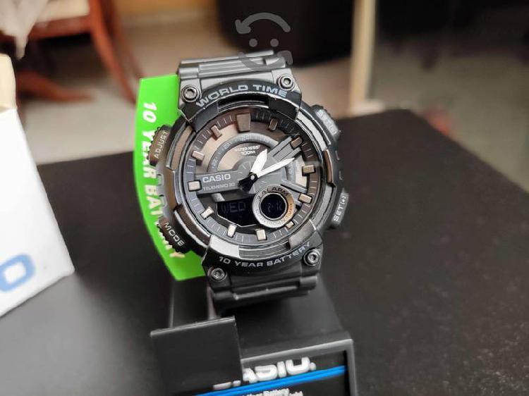 Reloj Casio AEQ-110w Seminuevo Agenda 30 Numeros