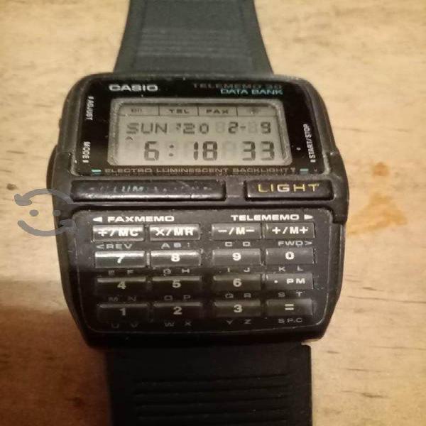 Reloj Casio Vintage de calculadora Dbc-30 Original