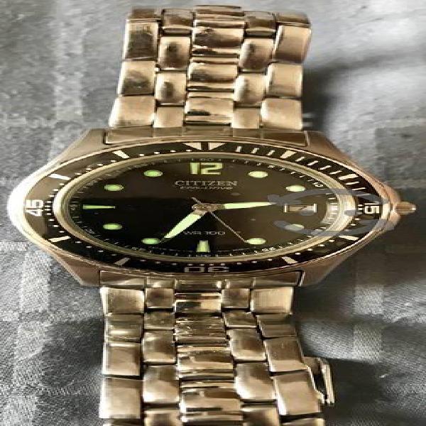 Reloj Citizen Eco-Drive Caballero Acero Inoxidable