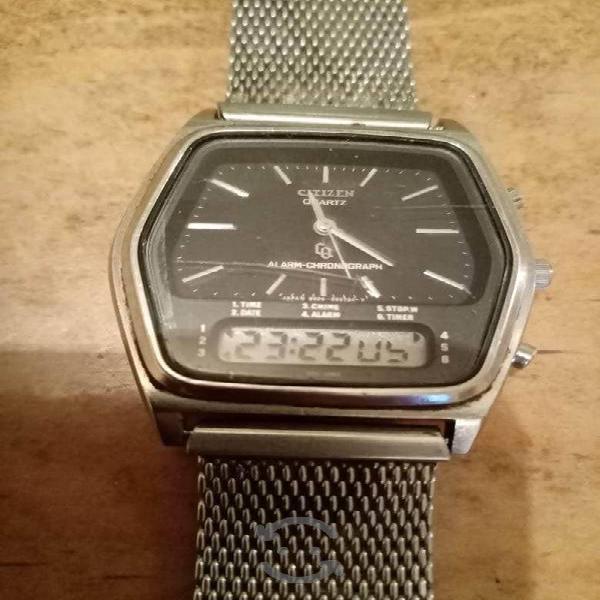 Reloj Citizen de los 70s Vintage AnaDigital