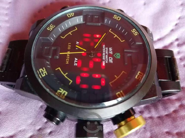 Reloj Comando Tactico con Leds