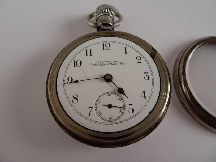 Reloj De Bolsillo American Waltham Watch 100 Años