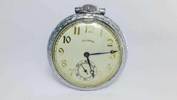 Reloj De Bolsillo Marca Illinois