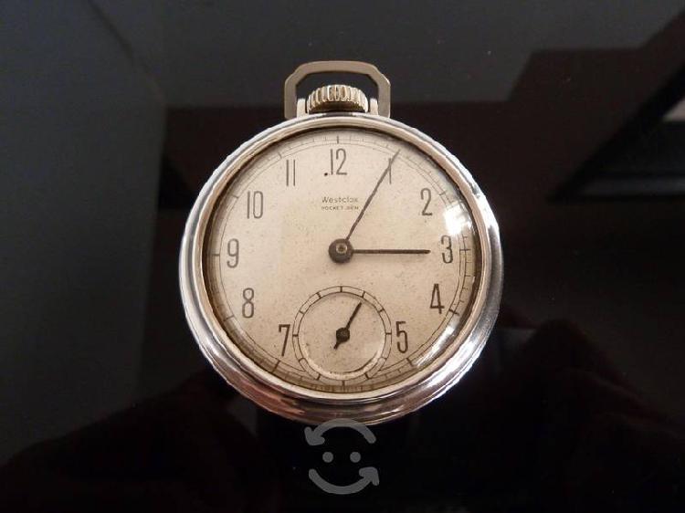 Reloj De Bolsillo Westclox Pocket Ben 1930-1950