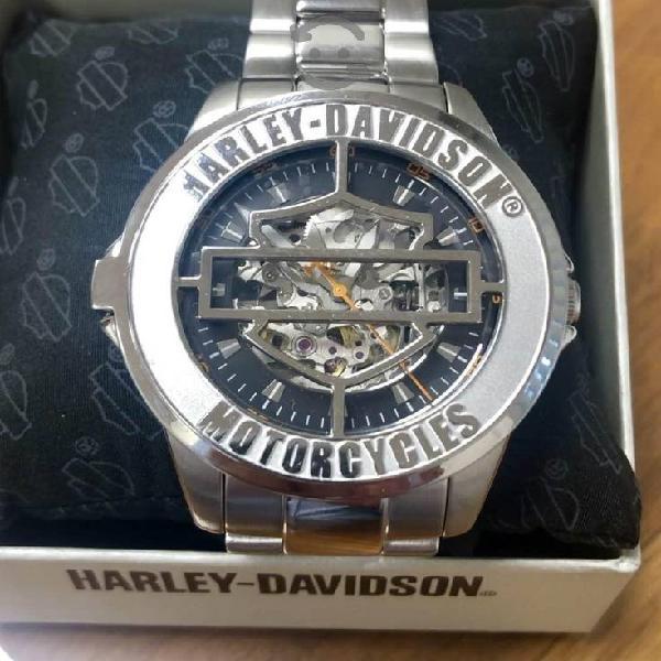 Reloj Harley Davison by Bulova, AUTOMÁTICO Nuevo!