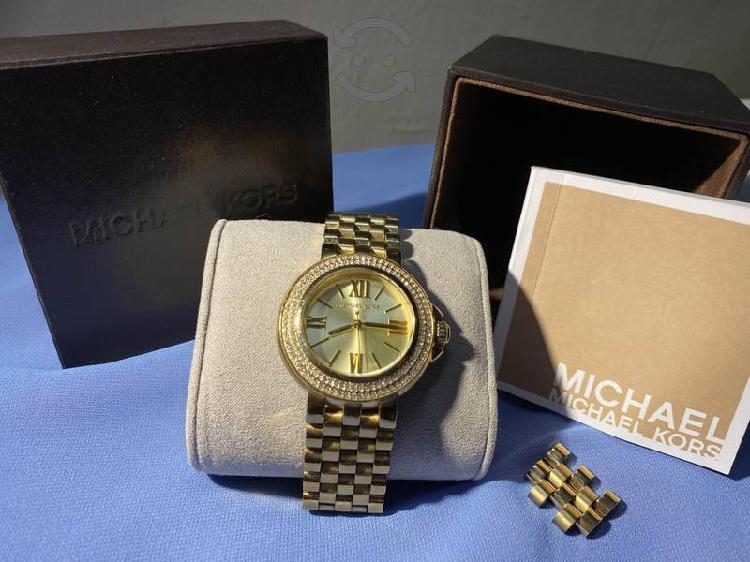 Reloj Michael Kors dorado
