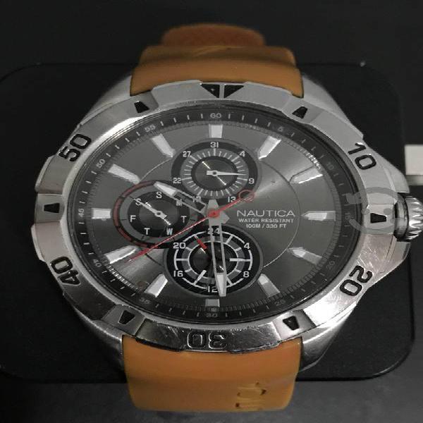 Reloj Náutica NST06 Naranja Caballero