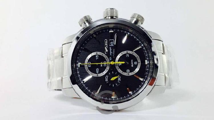 Reloj Original Seiko Cronógrafo Para Caballero