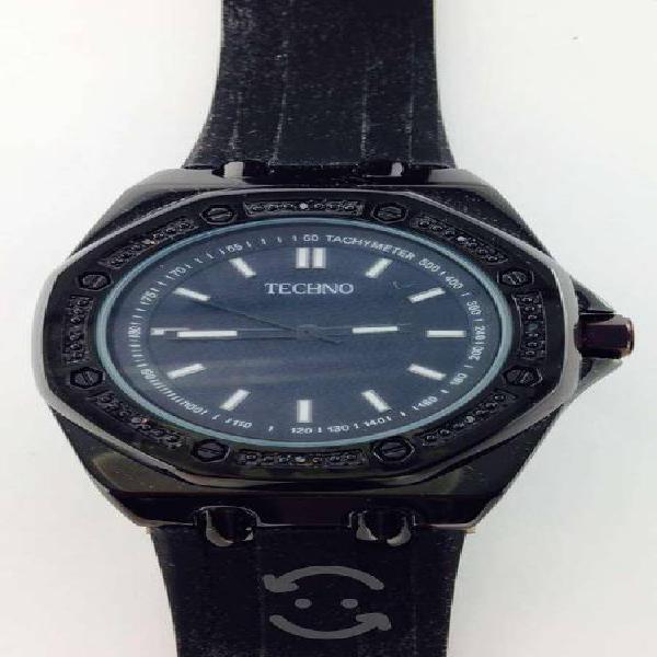 Reloj Original Techno Con Estuche P/caballero