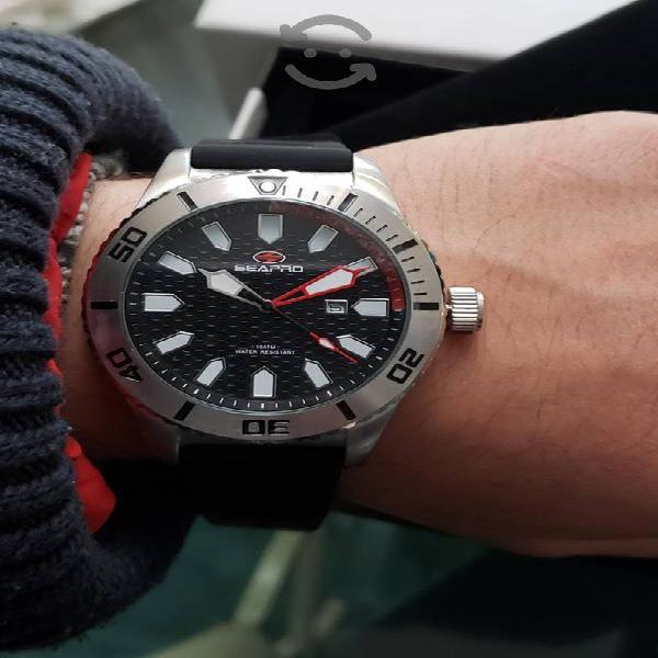 Reloj Sea Pro Nuevo en su Caja resistente al Agua