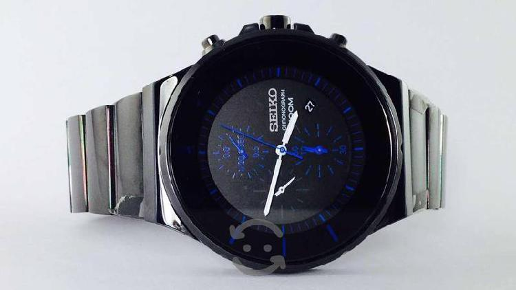 Reloj Seiko Modelo 7t92 Para Caballero, Cronografo