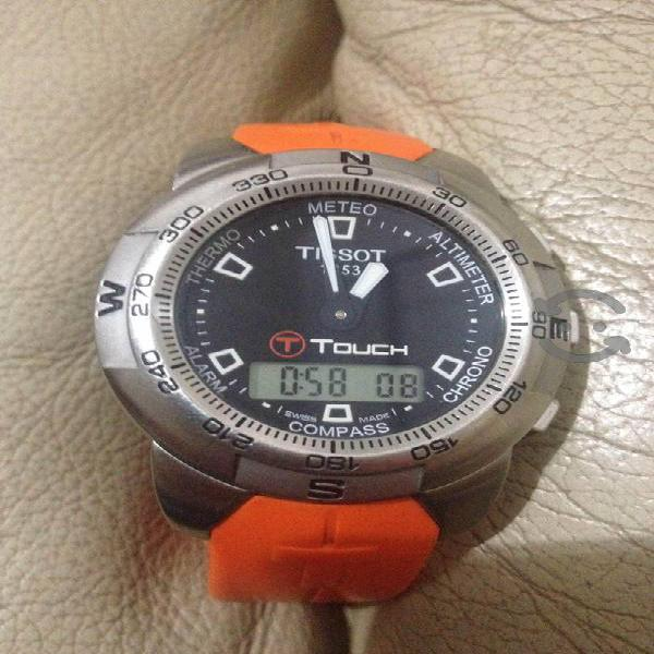 Reloj Suizo Tissot T Touch funcionando al 100%