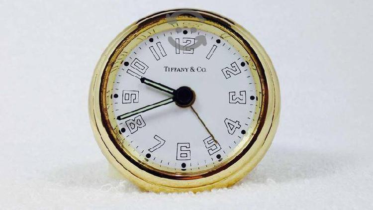 Reloj Tiffany De Viaje Con Alarma