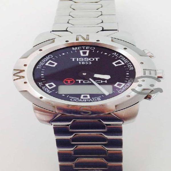 Reloj Tissot T Touch Caja Y Extensible De Acero