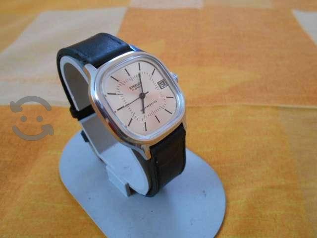 Reloj suizo stelco de los 60s cuerda