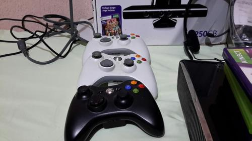 Remate De Locura Xbox 360 500 Gb Con Kinect Y Accesorios