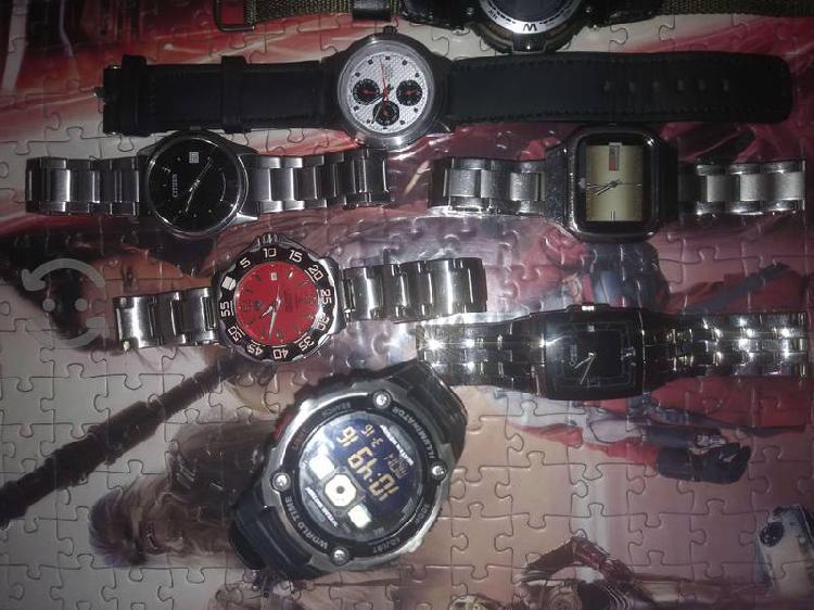 Remato relojes de marca estetica de 9 y 10