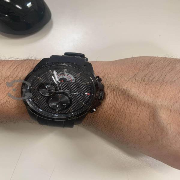 Tommy Hilfiger 1791352 Reloj hombre correa silicon