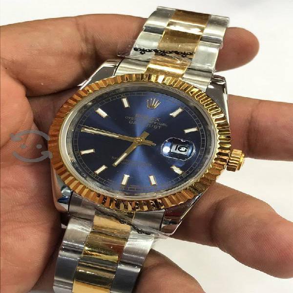 Vendo relojes nuevos acero y caucho