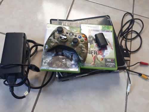 Xbox 360 250 Gb Y 2 Juegos