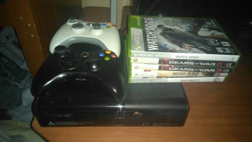 Xbox 360 E 4 Gb 7 Juegos 2 Controles