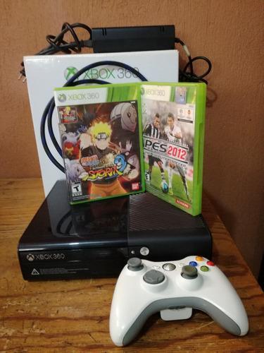 Xbox 360 Slim 4gb (incluye 2 Juegos)