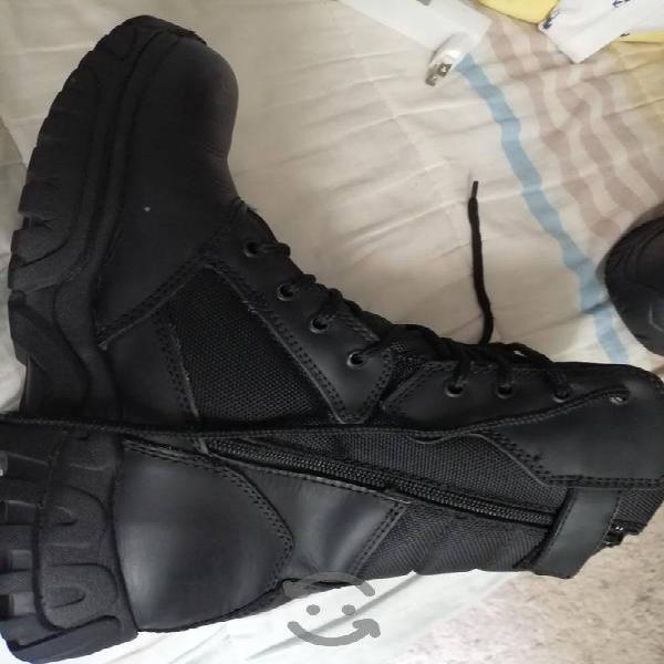 botas de seguridad táctil