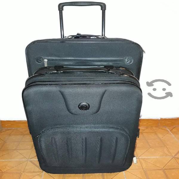 juego de maletas de viaje ruedas y jaladera