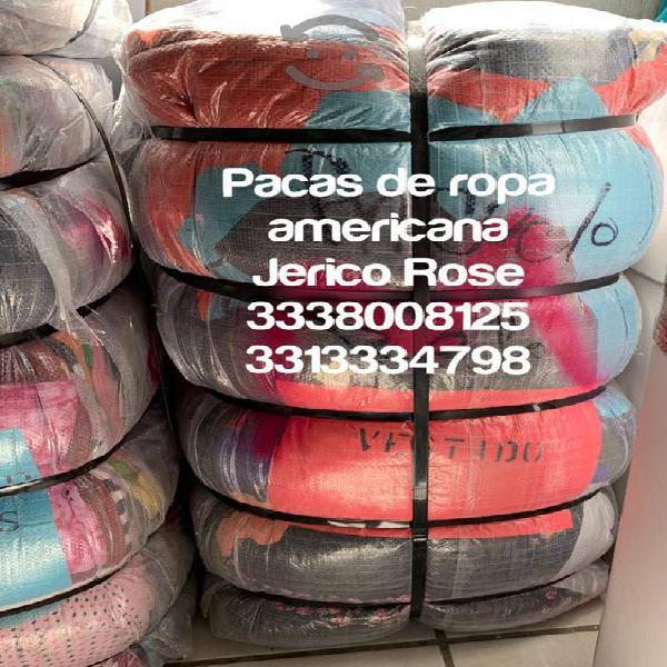pacas y lotes de ropa americana Enseñamos la merca