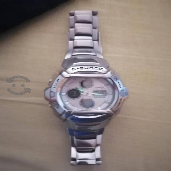 reloj casio acero inoxidable