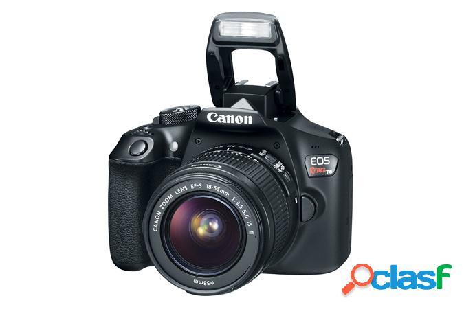 Cámara Réflex Canon EOS Rebel T6, 18MP, Cuerpo + Lente