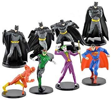 Figuras De Acción,dc Comics Miniatura Figurine Set - Inc..