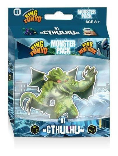 King Of Tokyo Monster Pack Cthulhu Juego