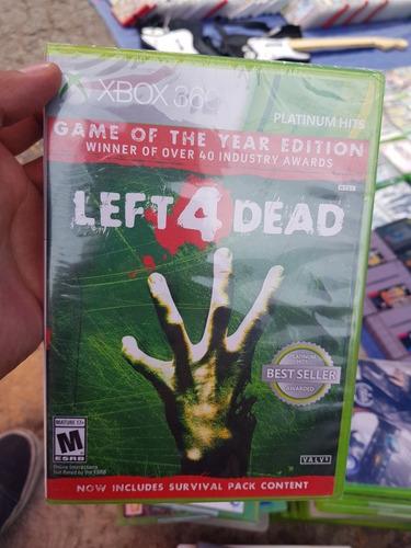 Left 4 Dead Juego Del Año Xbox One Y Xbox 360 Nuevo Sellado