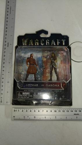 Lothar And Garona Warcraft Minifiguras Jakks Pacific