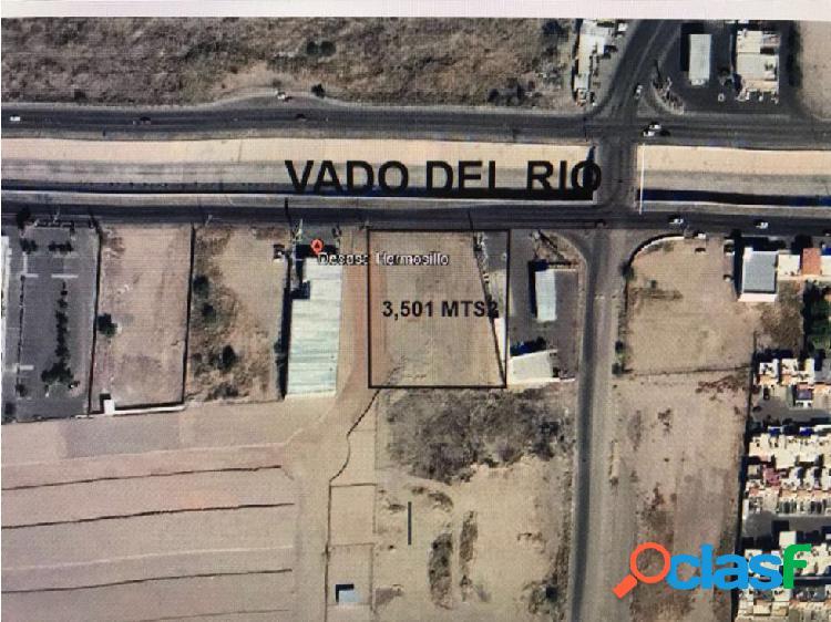 SE VENDE TERRENO COMERCIAL DE 3,501 m2