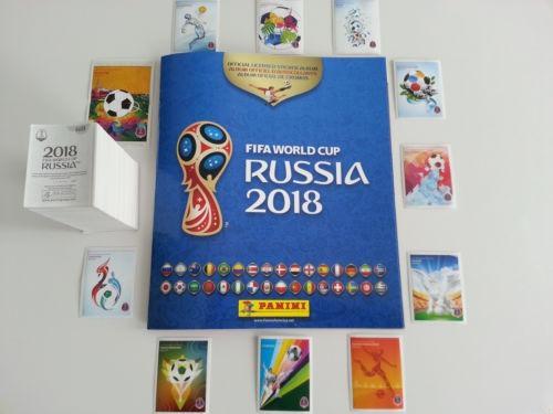 10 Estampas Mundial Rusia 2018 De Panini