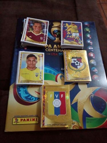 10 Estampas Sueltas Copa America Centenario Panini