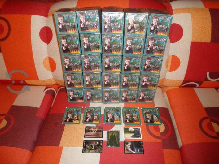 100 sobres con estampas Harry Potter La Orden del