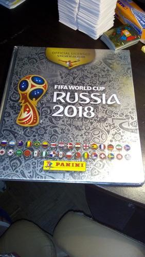 2 Cajas De Rusia 2018 Panini Y 2 Albums Platino