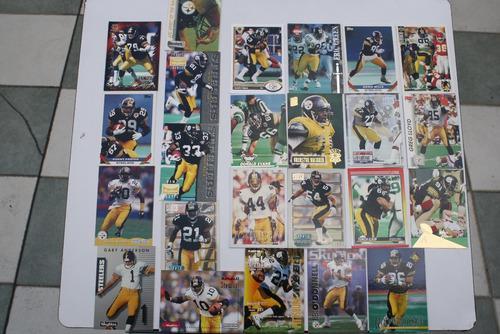 24 Tarjetas Coleccionables Pittsburgh Steelers, Acereros