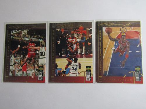 3 Tarjetas De Michael Jordan Anuncio 4