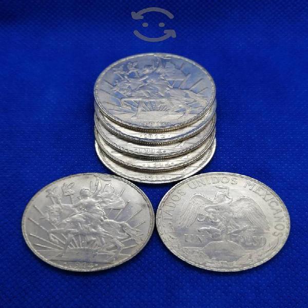 50 monedas de colección ley 0.720