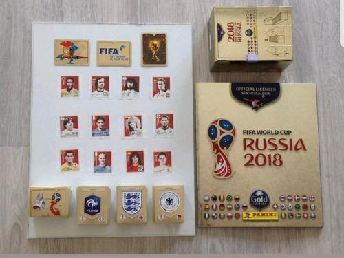 Album Gold Edition De Rusia Con Set Completo De 682 Estampas